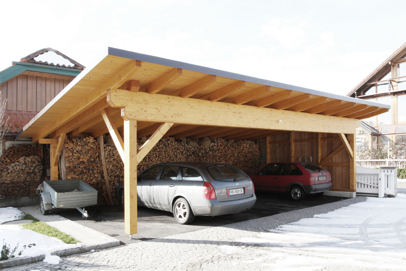 carports aus holz im raum v cklabruck gmunden ihr carport hersteller. Black Bedroom Furniture Sets. Home Design Ideas